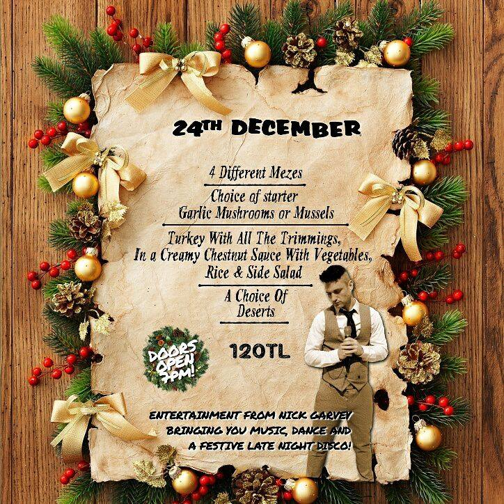Celebrate Christmas at Fly Inn Bar & Restaurant