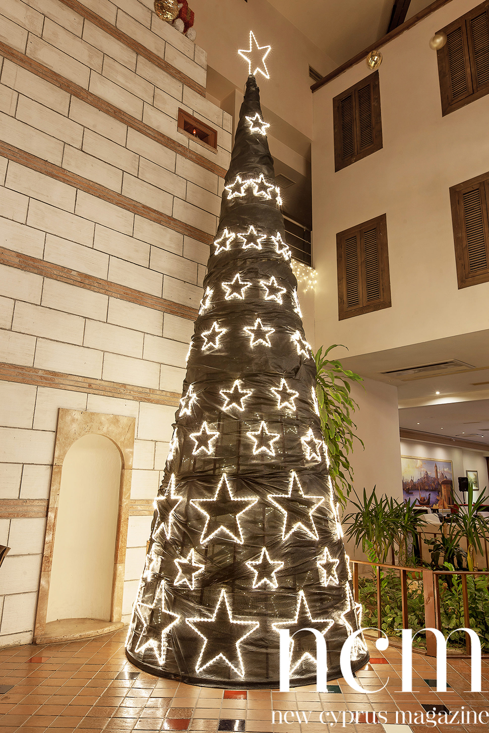 Christmas Decoration at Salamis Hotel