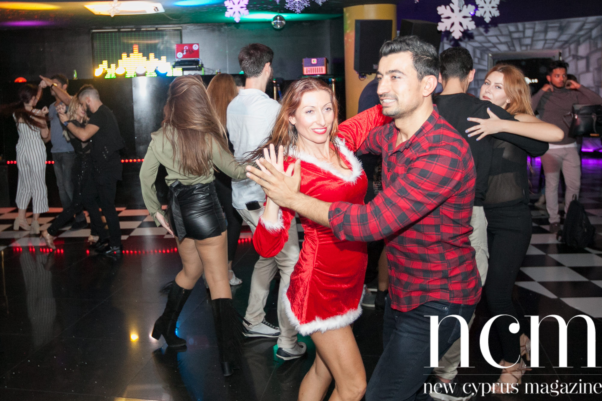 Last weekends Christmas Salsa Jam Party at Salamis Hotel