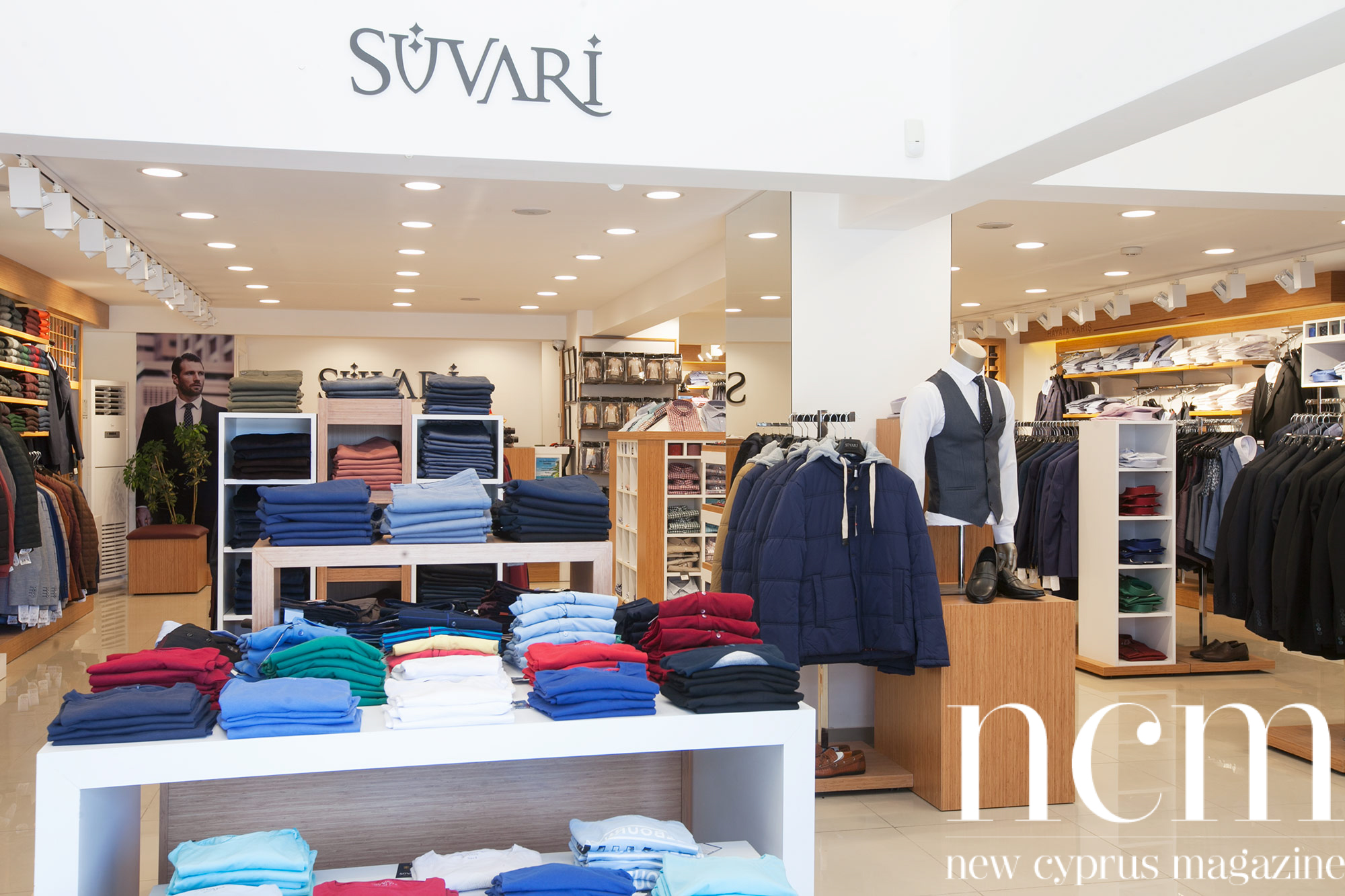 Süvari gentlemen cloths and suits in Kyrenia and Nicosia
