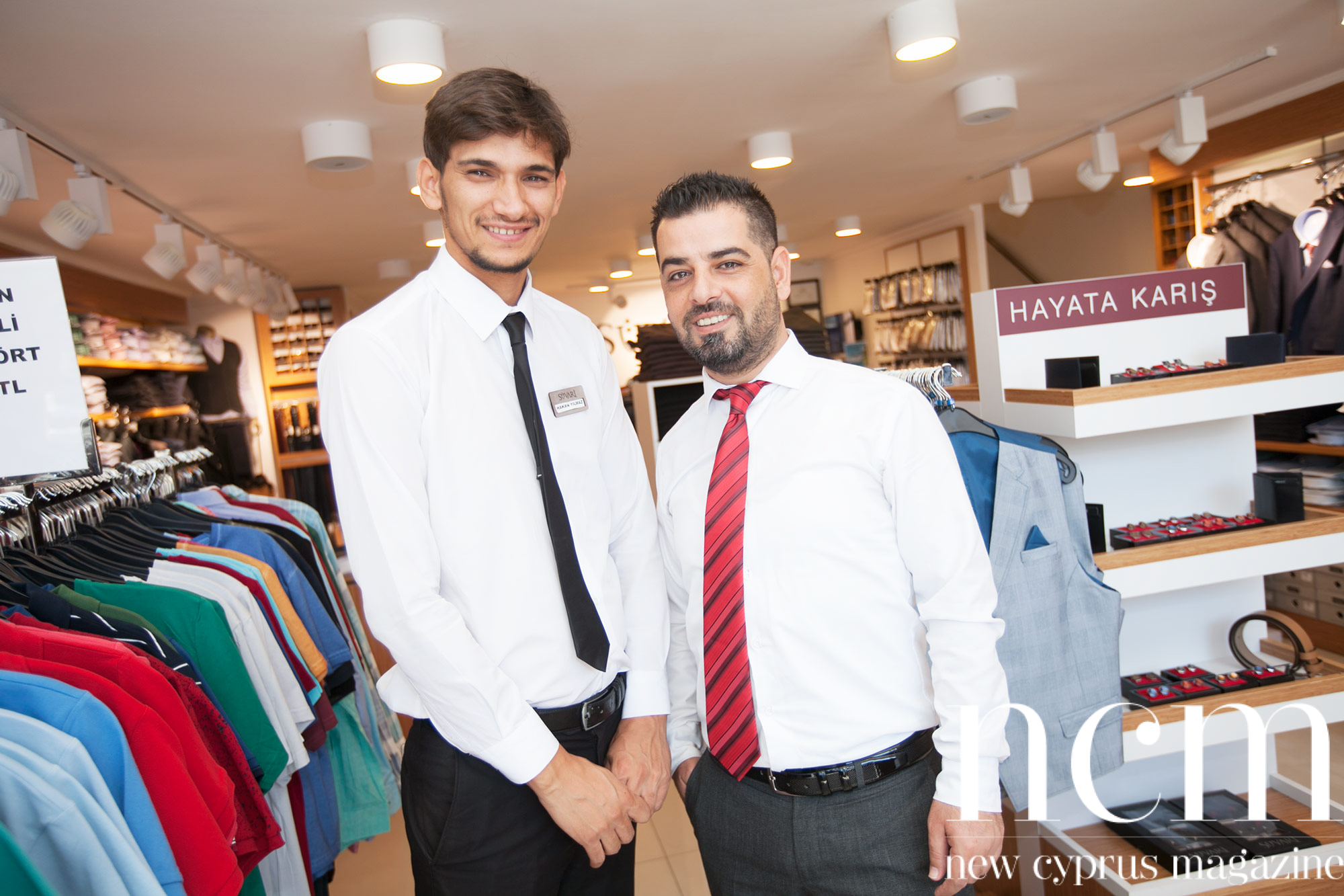 Süvari gentlemen cloths and suits in Kyrenia and Nicosia