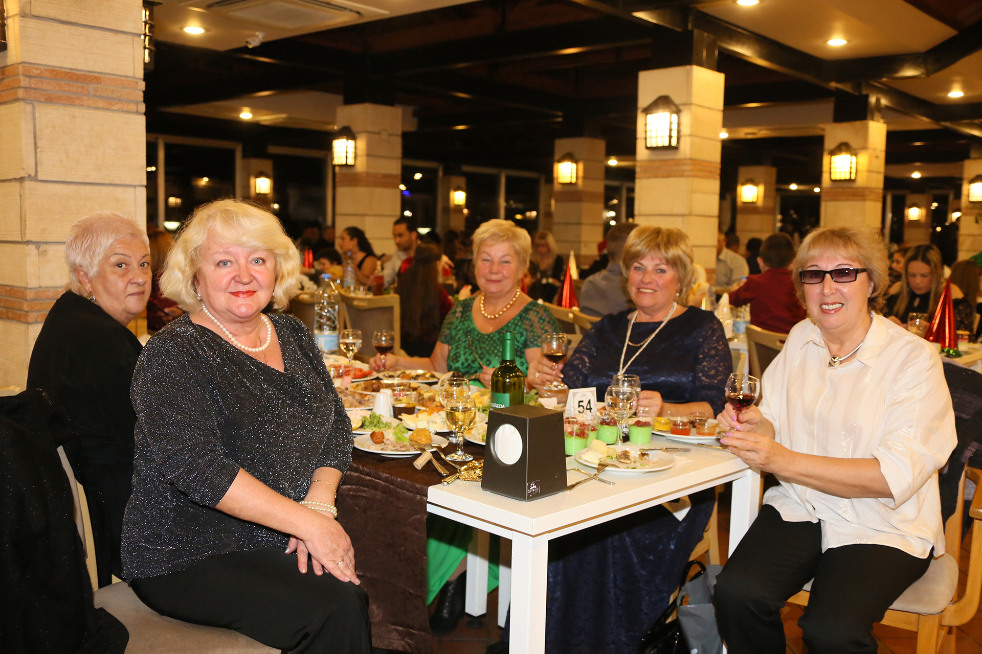 Photos from New Year Eve celebrations at Salamis Hotel