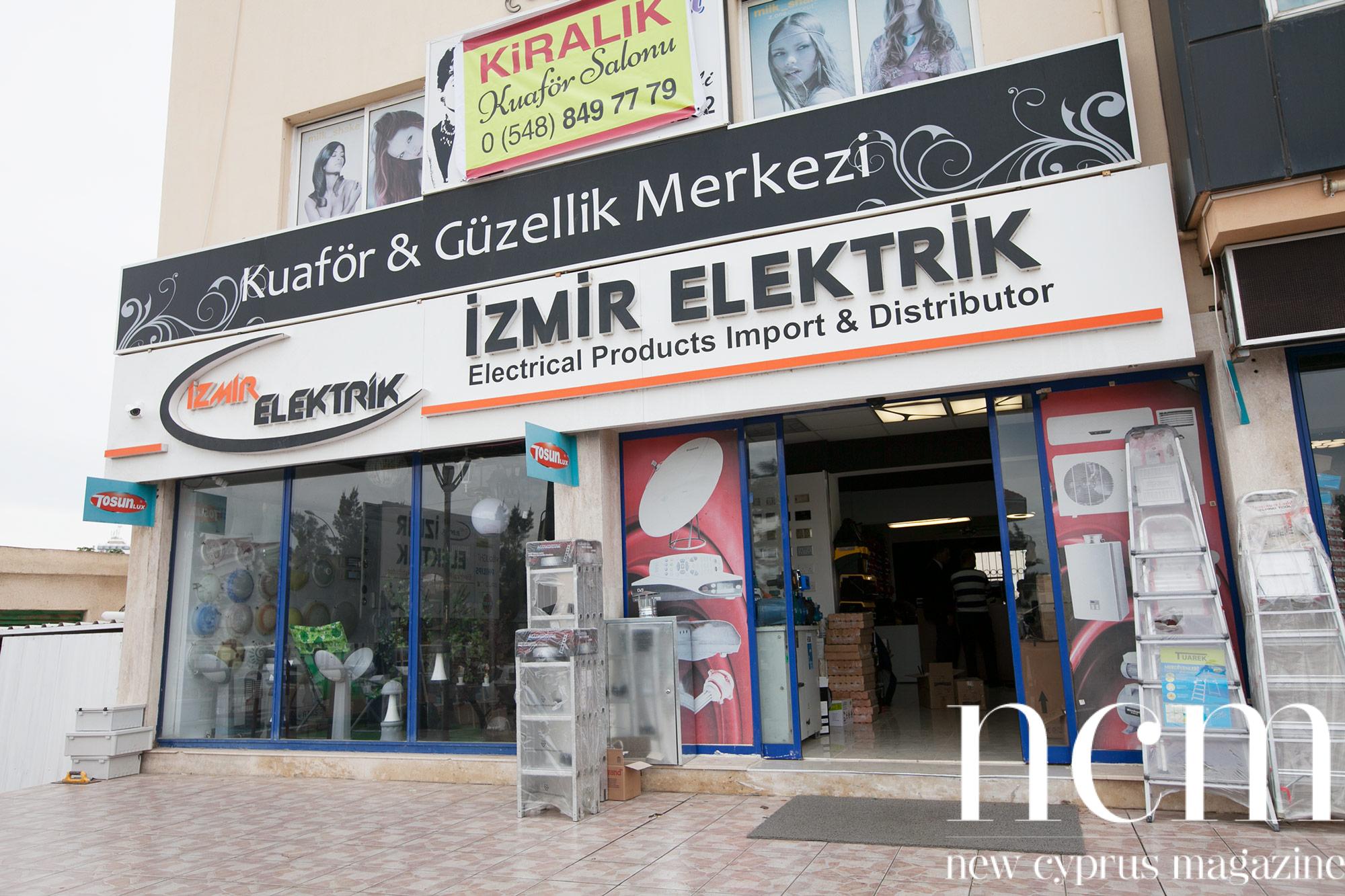 Izmir Elektrik Store in Famagusta