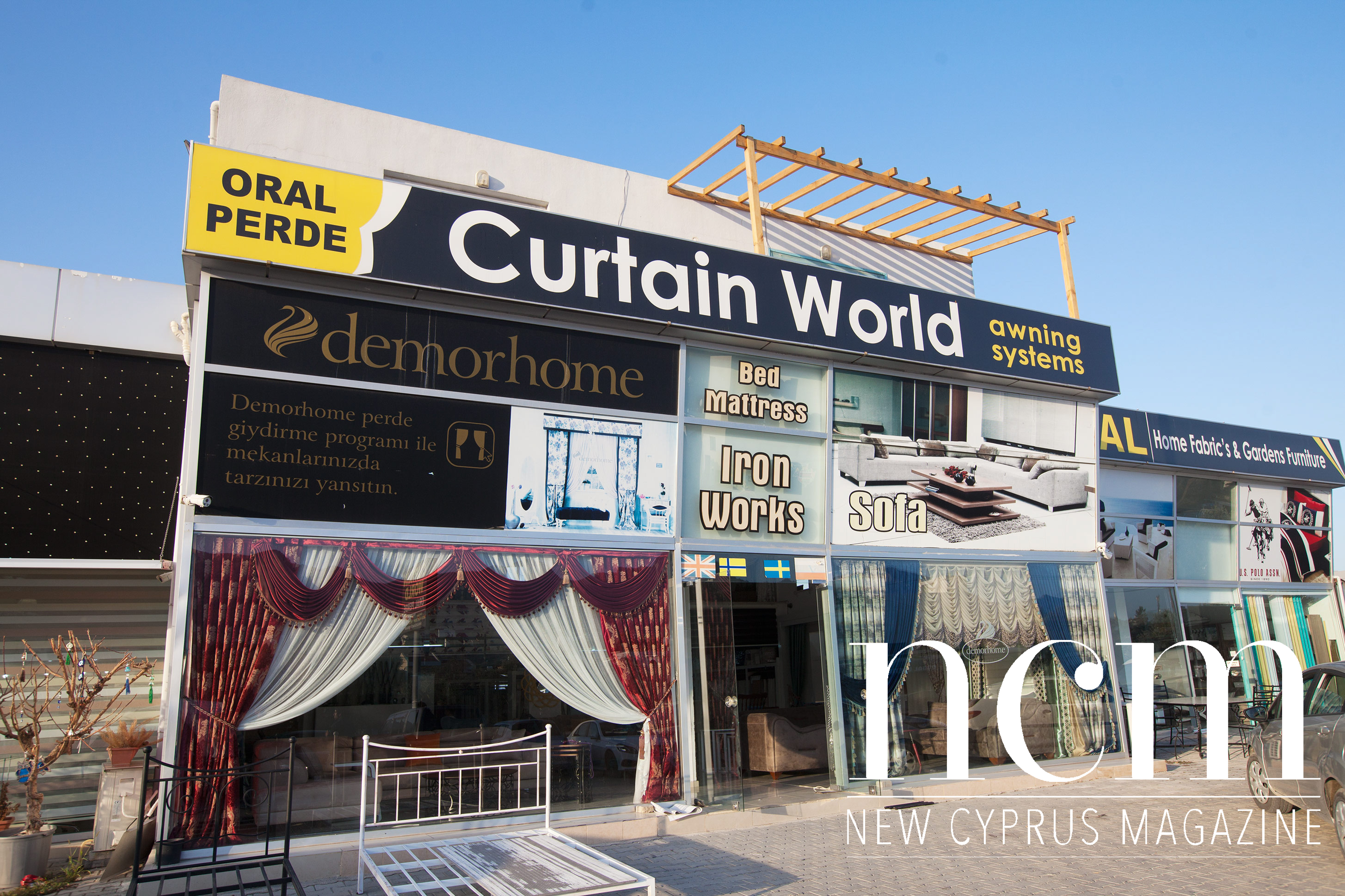 Oral Perde Curtain World