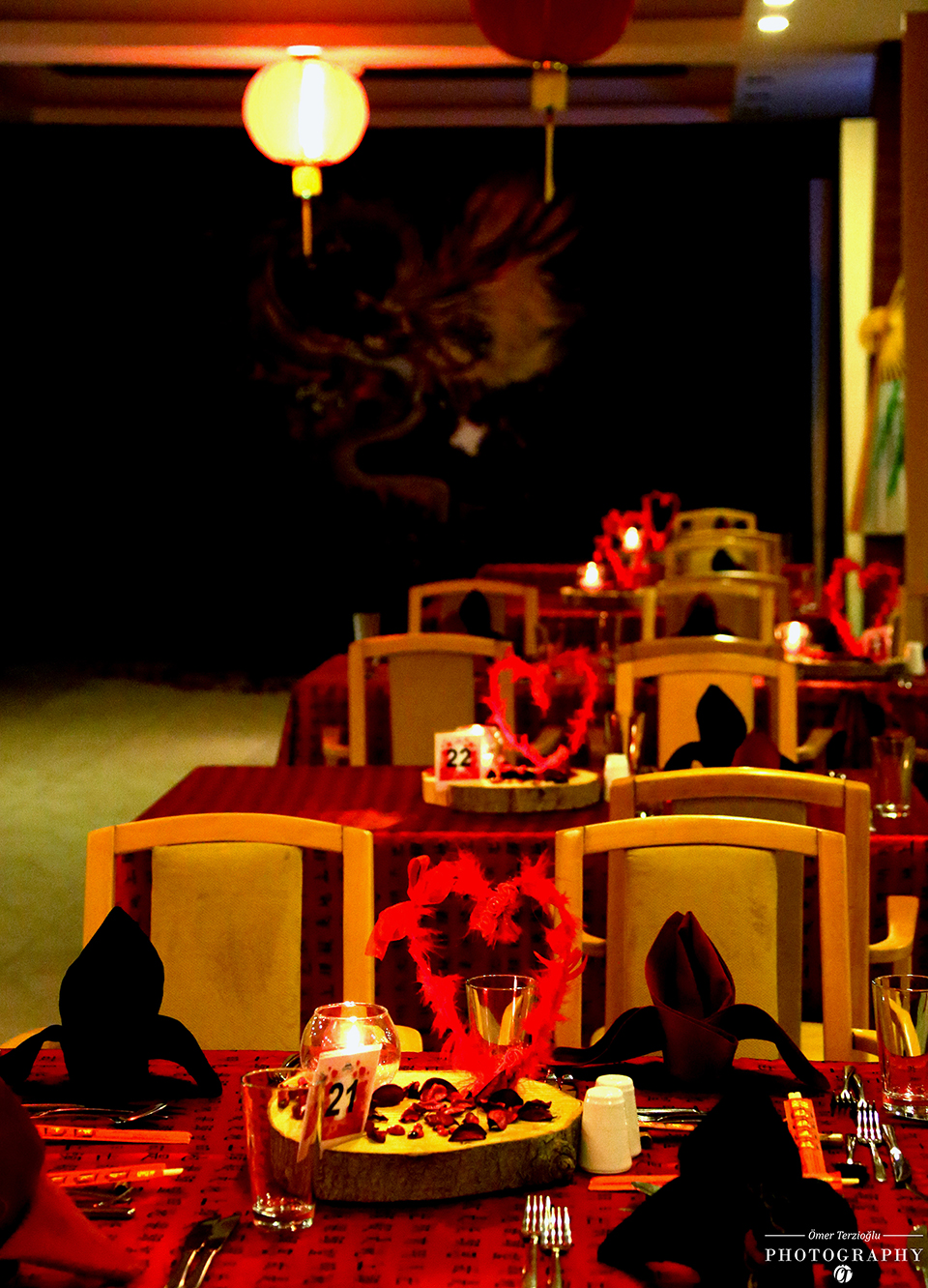 Valentines Day Celebrations at Salamis Chinese Restaurant